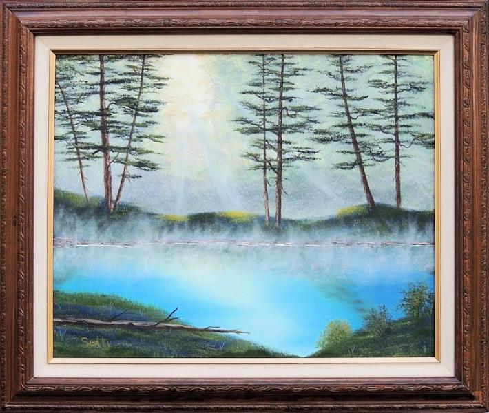 Morning Mist Framed