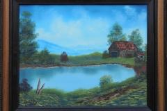 Blue Ridge Foothills Framed