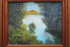 Sunlit Mesa Framed